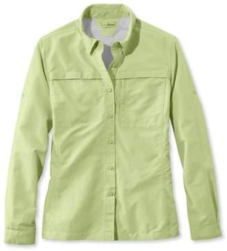 L.L. Bean L.L.Bean Misses' Tropicwear Shirt, Long-Sleeve