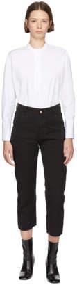 YMC Black Geanie Hopsack Jeans