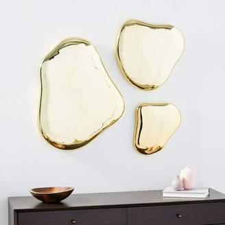 west elm Molten Mirror Wall Art