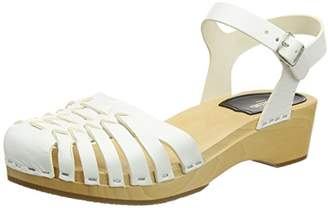 4d2c480c5717 Swedish Hasbeens Women s Snake Debutant Closed Toe Sandals