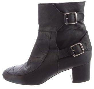 Laurence Dacade Quilted Leather Ankle Boots $290 thestylecure.com