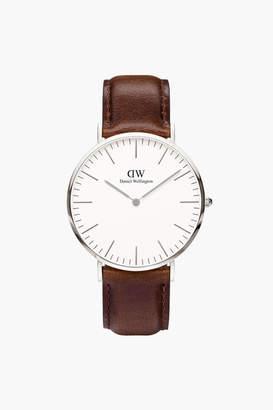 Daniel Wellington Classic 40mm Silver Bristol Watch