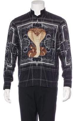Givenchy 2016 Blueprint Cobra Shirt