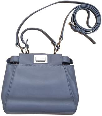 Fendi Peekaboo leather crossbody bag