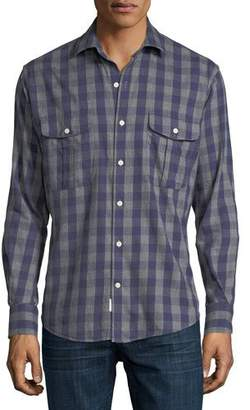 Peter Millar Buffalo Buddy Flannel Shirt