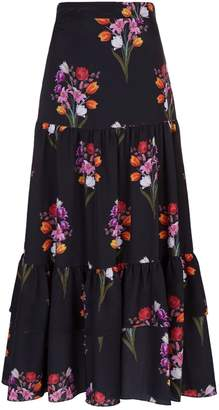 Borgo De Nor Emme Floral Skirt