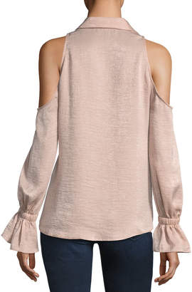 Waverly Grey Tessa Cold-Shoulder Top