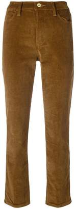 Frame straight-leg corduroy trousers