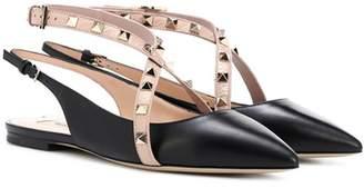 Valentino Studwrap slingback sandals