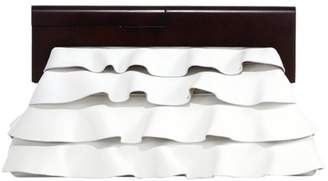 Michael Kors Ruffled Leather Clutch