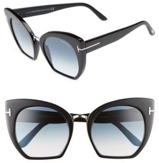 Tom Ford Samantha 55mm Sunglasses