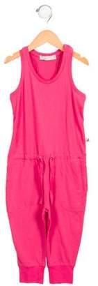 Stella McCartney Girls' Knit Drawstring Jumpsuit