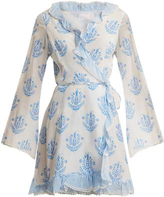 Vagabond ATHENA PROCOPIOU long-sleeve wrap dress