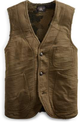 Ralph Lauren Fleece-Lined Jersey Vest