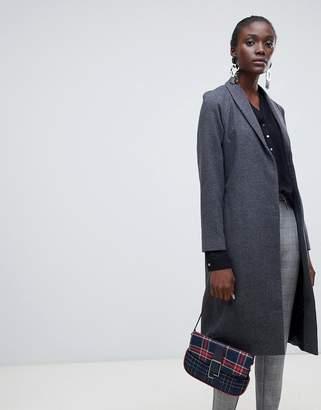 Vero Moda aware check longline coat