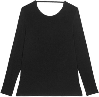 Eve's Temptation Nancy Backless Long Sleeve Top