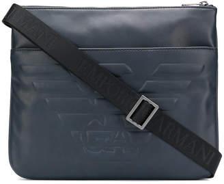 Emporio Armani Maxi logo shoulder bag