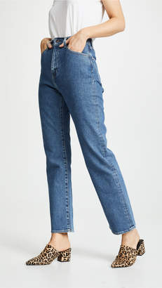 Levi's 701 Highrise Straight Jeans