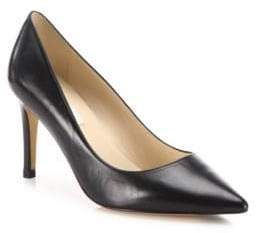 LK Bennett Florete Leather Point Toe Pumps