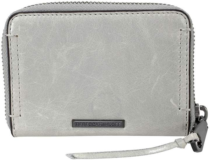 Rebecca Minkoff Mini Regan Leather Wallet - Putty - ONE COLOR - STYLE