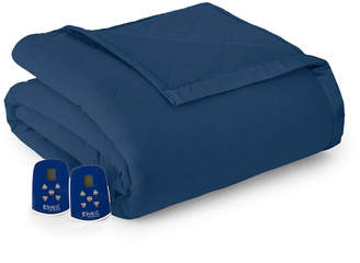 Shavel Micro Flannel 7 Layers of Warmth Full Heated Blanket Bedding