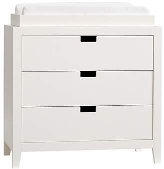 Pottery Barn Kids Marlow Dresser & Topper Set, Simply White