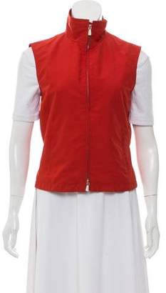 Loro Piana Lightweight Stand Collar Vest