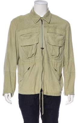 Collection Privée? Leather Field Jacket
