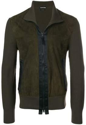 Tom Ford contrast trim jacket
