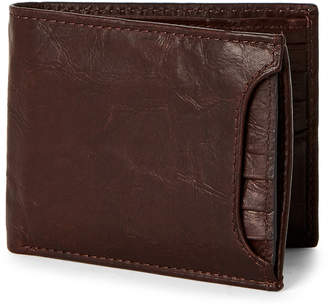 Fossil Brown Ingram Sliding Two-in-One Leather Wallet