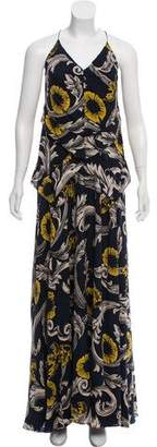 Burberry Printed Maxi Dress