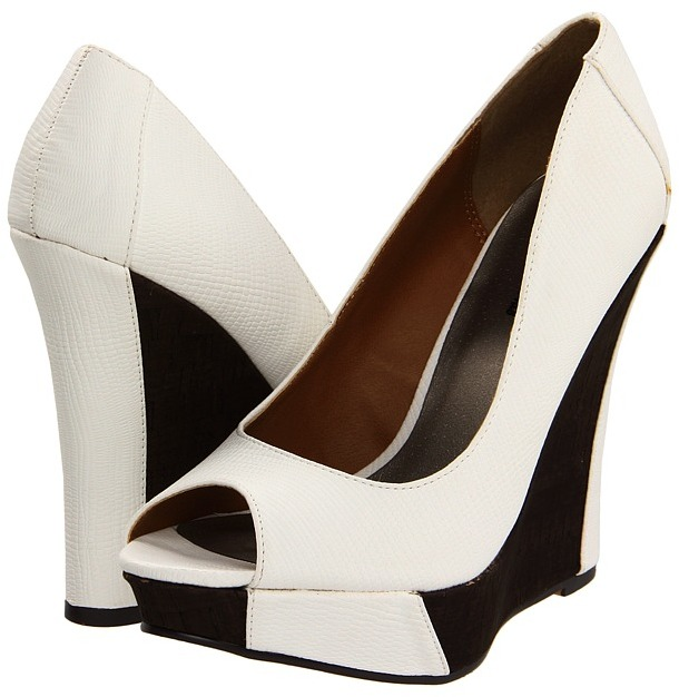 Michael Antonio Andie (White Reptile) - Footwear
