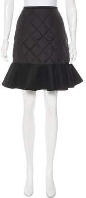 Moncler Down Mini Skirt