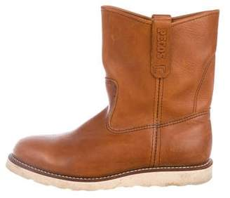 Red Wing Shoes Pecos Leather Ankle Boots