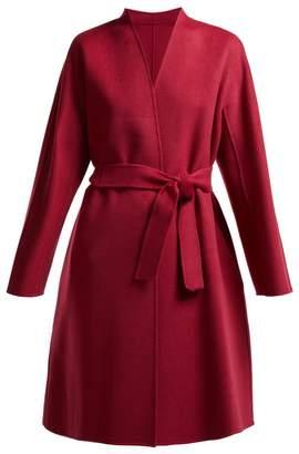 Max Mara Gimmy belted wool coat