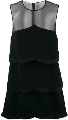 Stella McCartney sheer panel layered dress