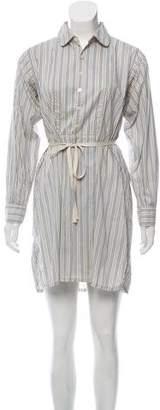 Marc by Marc Jacobs Stripe Oversized Shift Dress
