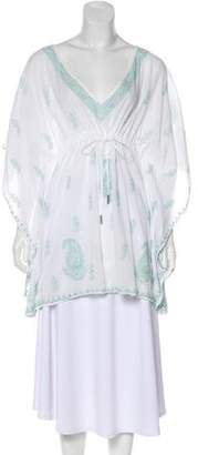 Melissa Odabash Paisley Embroidered Tunic