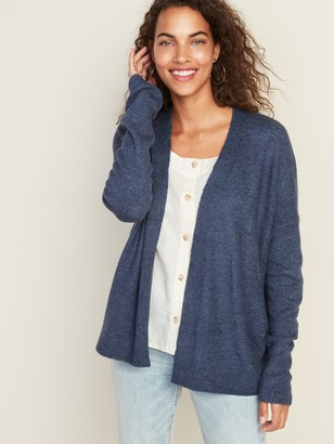 Old Navy Short Open-Front Cocoon Sweater for Women