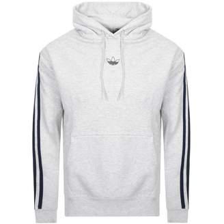adidas FT BBall Logo Hoodie Grey