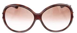 Hogan Round Oversize Sunglasses