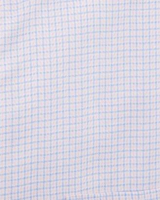 Neiman Marcus Classic-Fit Non-Iron Herringbone-Check Dress Shirt