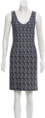 Prada Printed Sheath Dress