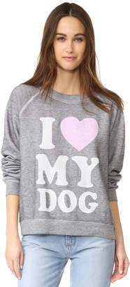Wildfox Must Love Dogs Sweatshirt $114 thestylecure.com