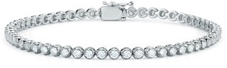 Nephora Diamond Trend 14K White Gold & Diamond Bezel Tennis Bracelet