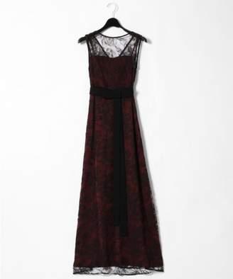 Grace Continental (グレース コンチネンタル) - グレースコンチネンタル リバーレースロングドレス