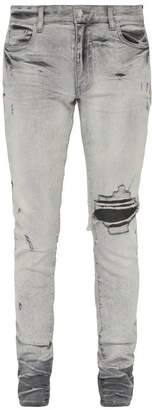Amiri Broken Skinny Jeans - Mens - White