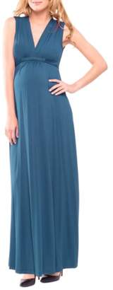 Olian Lucy Maternity Maxi Dress