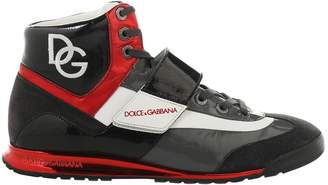 Dolce & Gabbana Red Leather Trainers