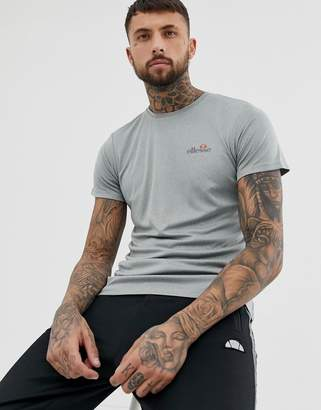 Ellesse elllesse sport Becketi t-shirt with small logo in gray marl